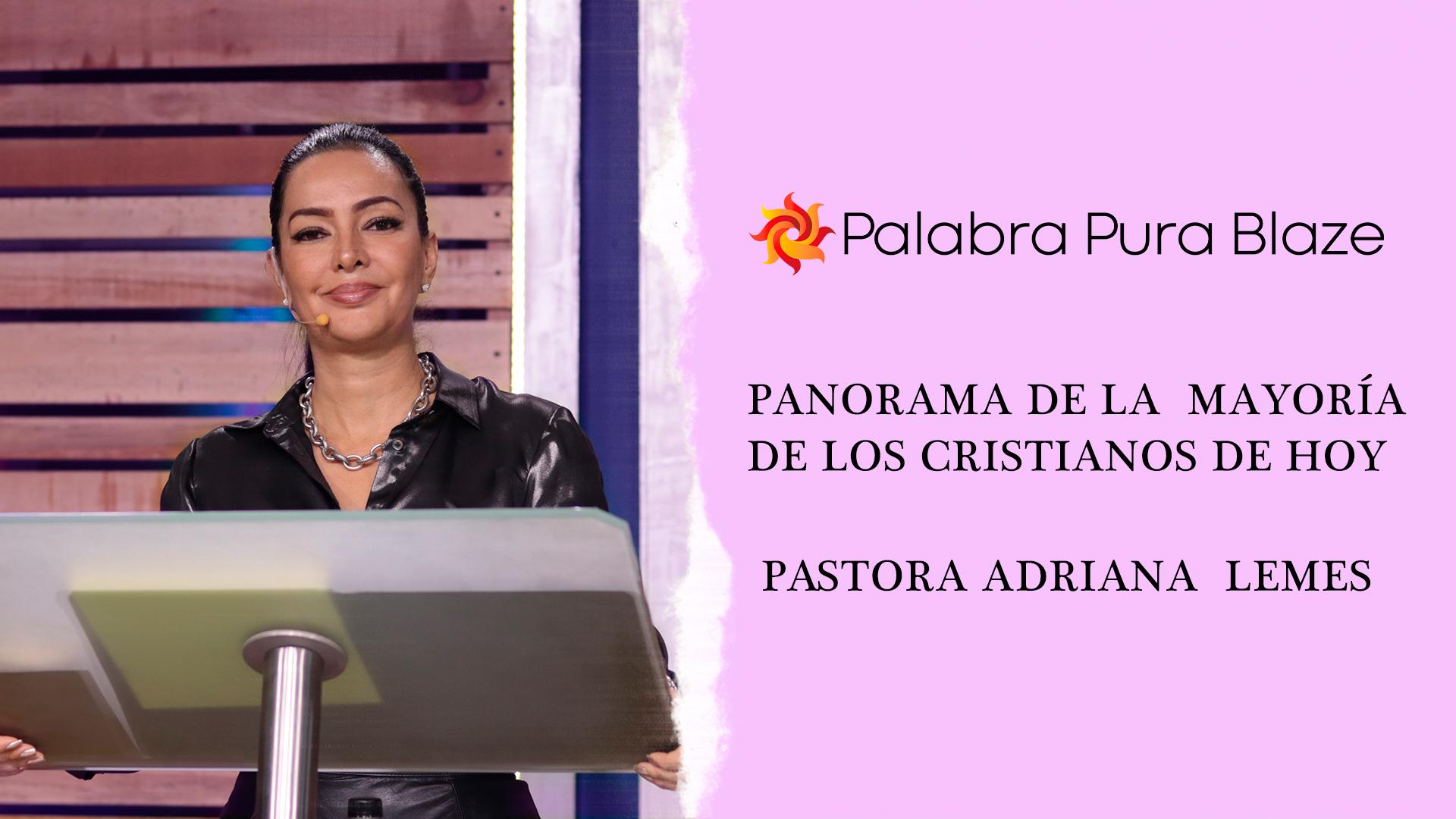 PANORAMA DE LA MAYORÍA DE LOS CRISTIANOS DE HOY