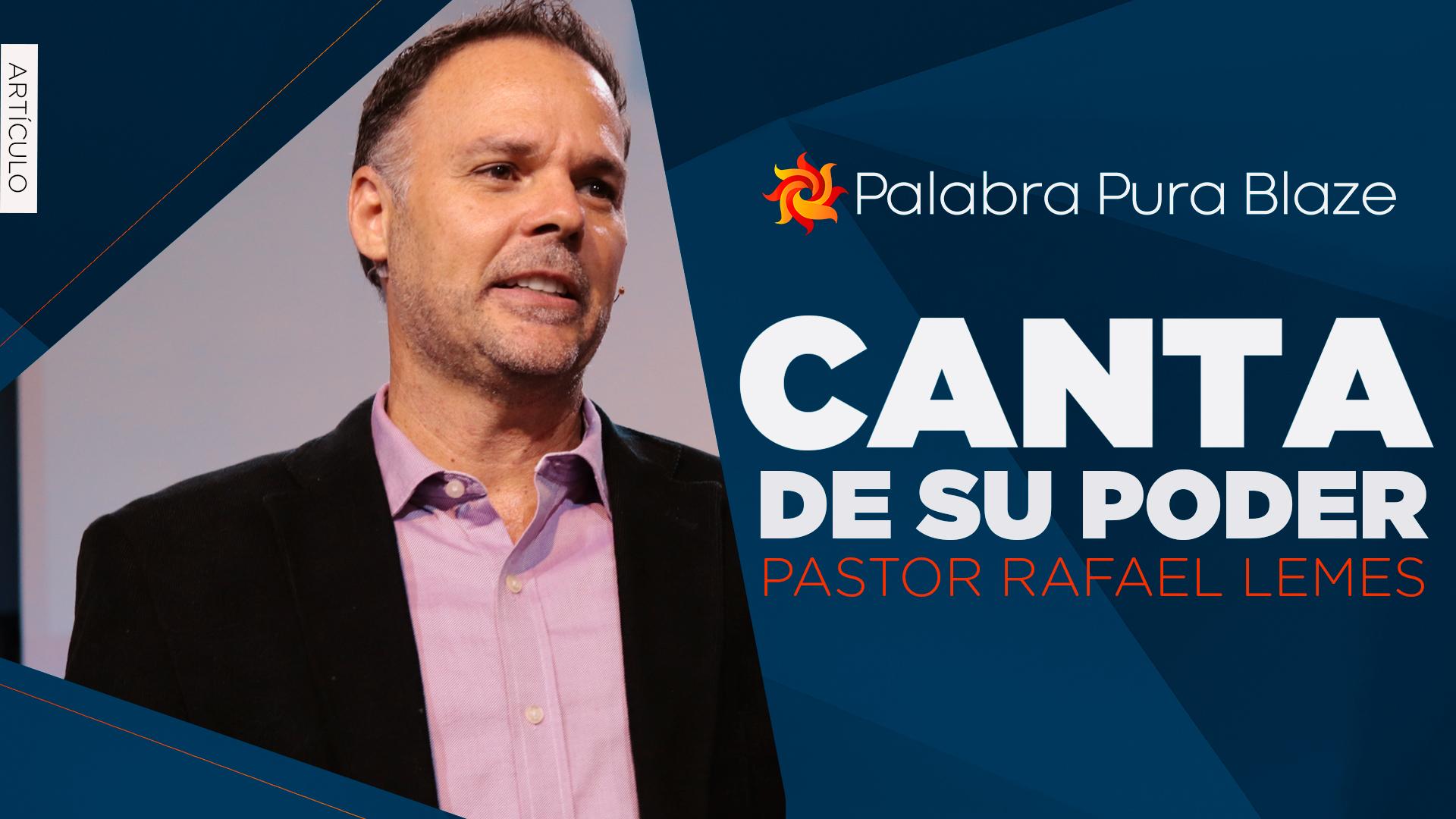 CANTA DE SU PODER